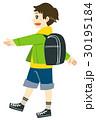 通学 ランドセル 歩くのイラスト 30195184
