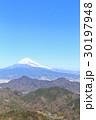 富士山 富士 冬の写真 30197948