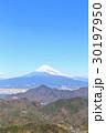 富士山 富士 冬の写真 30197950