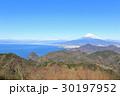 富士山 富士 冬の写真 30197952