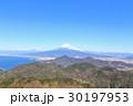 富士山 富士 冬の写真 30197953