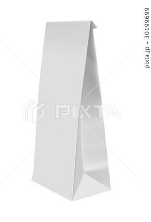 Blank white packaging for sandwich 30199699