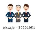 男性 ビジネス ビジネスチームのイラスト 30201951