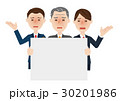 男性 ビジネス ビジネスチームのイラスト 30201986