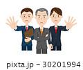 男性 ビジネス ビジネスチームのイラスト 30201994