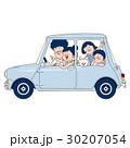 ドライブ 車 乗用車のイラスト 30207054