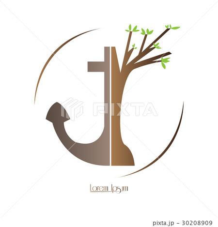 Isolated nature logoのイラスト素材 [30208909] - PIXTA
