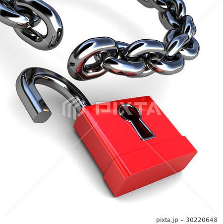 unlockedのイラスト素材 30220648 pixta