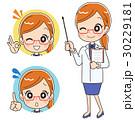 医者 女性 セットのイラスト 30229181