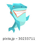 サメ シャーク 鮫のイラスト 30233711