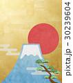 富士山 日の丸 松のイラスト 30239604