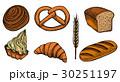 パン ブレッド ベクトルのイラスト 30251197