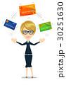 クレジット 単位 カードのイラスト 30251630