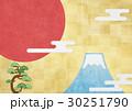 日の丸 松 富士山のイラスト 30251790