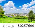 住宅街 住宅地 春の写真 30257600