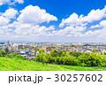 住宅街 住宅地 春の写真 30257602