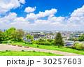住宅街 住宅地 春の写真 30257603