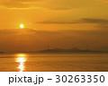瀬戸内海 東色島市 朝日の写真 30263350