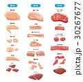 肉のセット【食材・シリーズ】 30267677