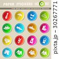 clothes icon set 30267771