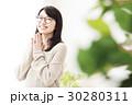 女性 メガネ女子 若い女性 かわいい ライフスタイル カジュアル 30280311