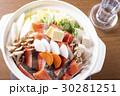 鍋 石狩鍋 日本食の写真 30281251