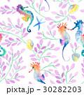 透明水彩 水彩画 海のイラスト 30282203