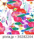 透明水彩 水彩画 海のイラスト 30282204