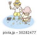 潮干狩り 30282477