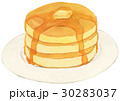お菓子 西洋菓子 ホットケーキのイラスト 30283037