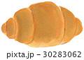 水彩画 パン ロールパンのイラスト 30283062