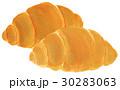 水彩画 パン ロールパンのイラスト 30283063