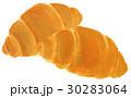 水彩画 パン ロールパンのイラスト 30283064