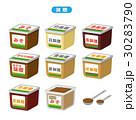 味噌 セット ベクターのイラスト 30283790
