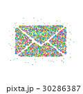 アイコン ベクトル 郵便のイラスト 30286387