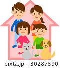 家族 二世代 家 30287590