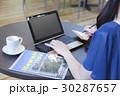 女性 旅行 計画の写真 30287657