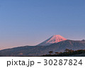 赤富士山 千本松原 30287824