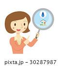 ビジネス 女性 査定のイラスト 30287987