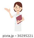 女性 看護師 カルテのイラスト 30295221