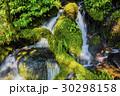 川 河川 石の写真 30298158