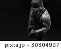 フィットネス ボディービルダー 筋肉の写真 30304997