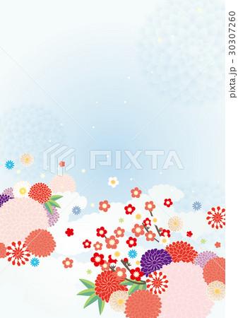 背景素材-初春イメージ 30307260