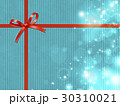 リボン キラキラ プレゼントのイラスト 30310021