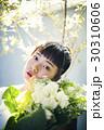 花 女性ポートレート イノセント 30310606
