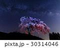天の川 桜 ミルキーウェイの写真 30314046