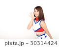 日本のチアガール 30314424