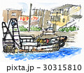 漁港の風景17501pix7 30315810