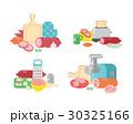 ベクトル 材料 食材のイラスト 30325166