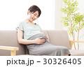 妊婦 妊娠 マタニティの写真 30326405